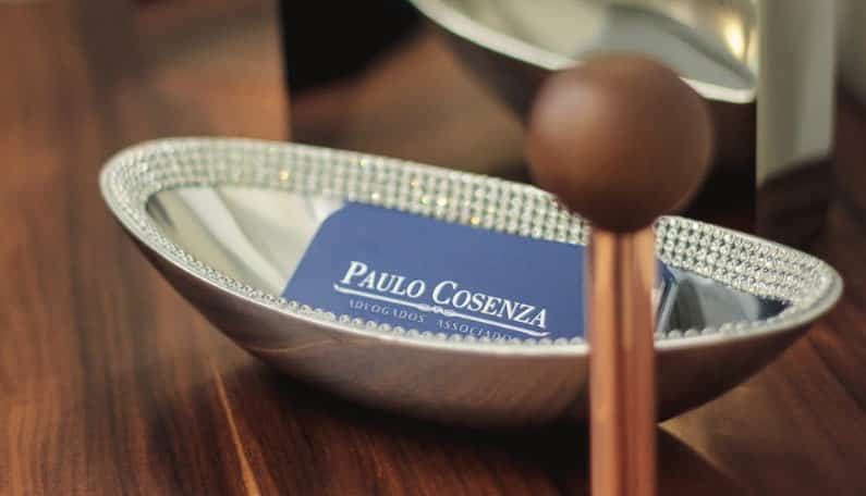 Cartão Advogado Paulo Cosenza