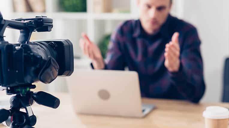 Criar conteúdos em vídeo